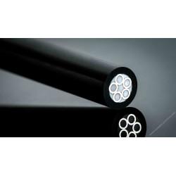 Rivet mosaïque carbone 6mm
