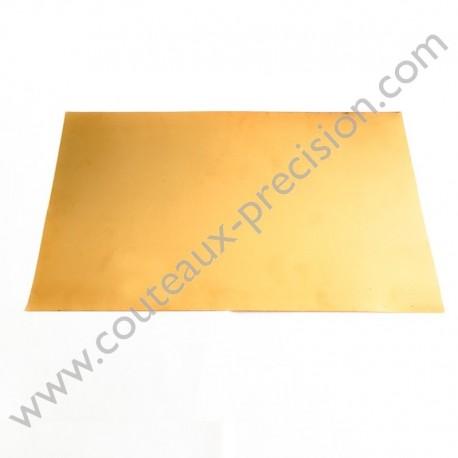 Feuille de Bronze Phosphoreux 15x25cm